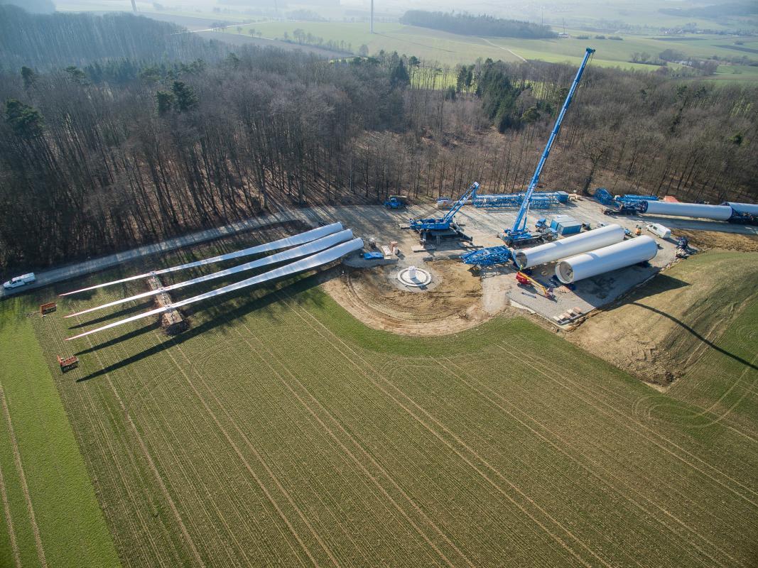 Windkraftanlagen Schweiz Windenergie