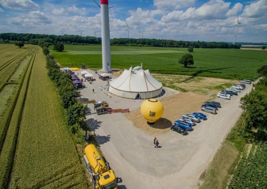 Grösster Bürgerwindpark Von Süddeutschland Eingeweiht